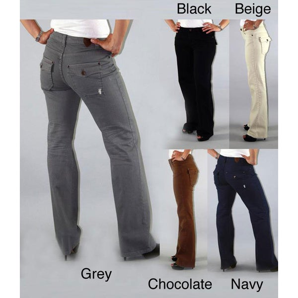Institute Liberal Women's Stretch Twill Bootcut Pants - Free ...