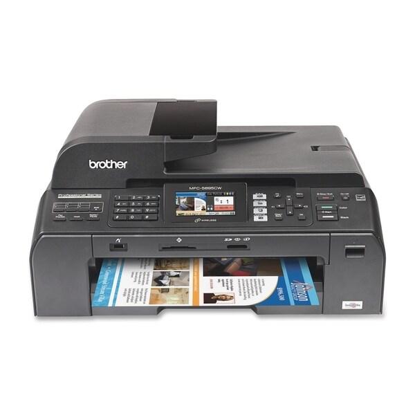 Brother MFC-5895CW Inkjet Multifunction Printer - Color - Plain Paper