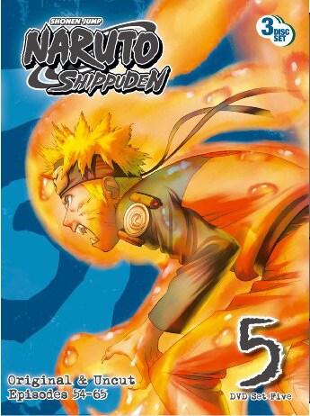 Naruto Shippuden Box Set 5 (DVD)