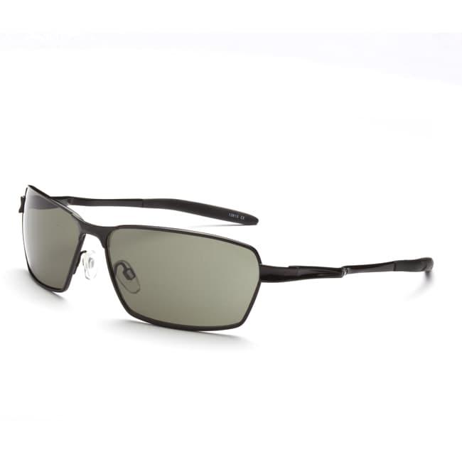 Optic Nerve Men's Axel Matte Black Polarized Sunglasses