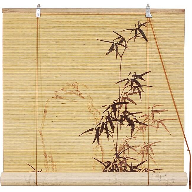 Handmade Bamboo 48-inch Bamboo-designed Blinds (China)