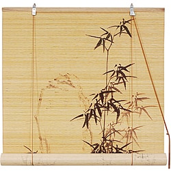 Handmade Bamboo 48-inch Bamboo-designed Blinds (China)
