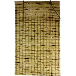 Handmade Bamboo 24-inch Roll-up Blinds (China)