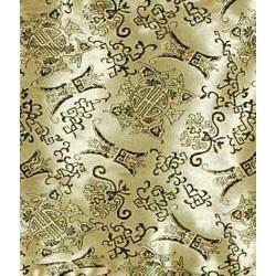 Handmade 24 inch Gold Shang Hai Tan Blinds (China) - Thumbnail 1