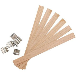 Yaley Large Wood Earth Wicks (Pack of 6)