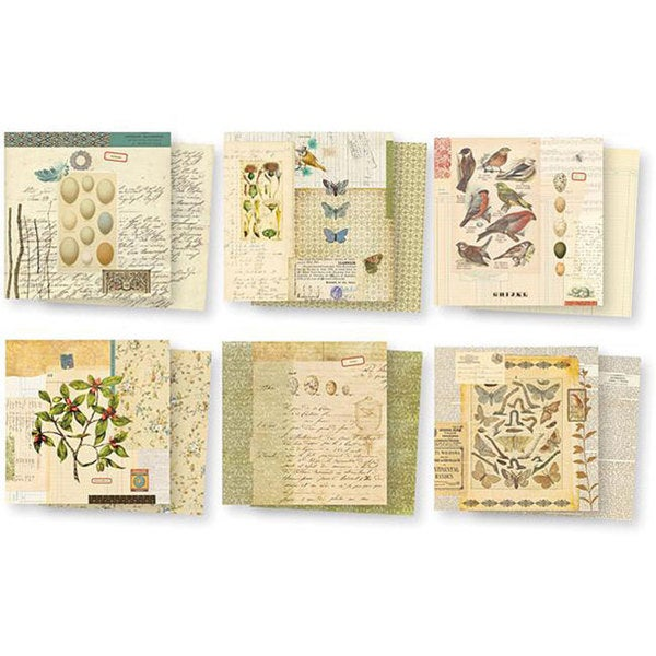 7 Gypsies Conservatory Double-sided 6x6-inch Paper Pack. Opens flyout.
