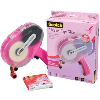 Scotch 3M Pink Advanced Tape Glider and Tape