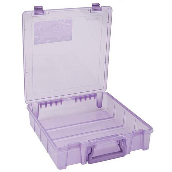 ArtBin Translucent Purple Super Satchel Single Compartment