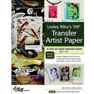 C&T Publishing Leslie Riley's TAP Transfer Artist Paper (Pack of 18)