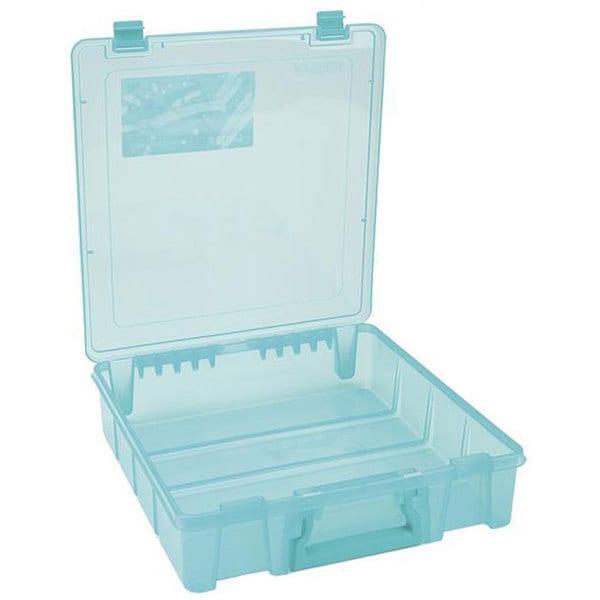 ArtBin Super Satchel Translucent Teal Single Compartment Storage Case