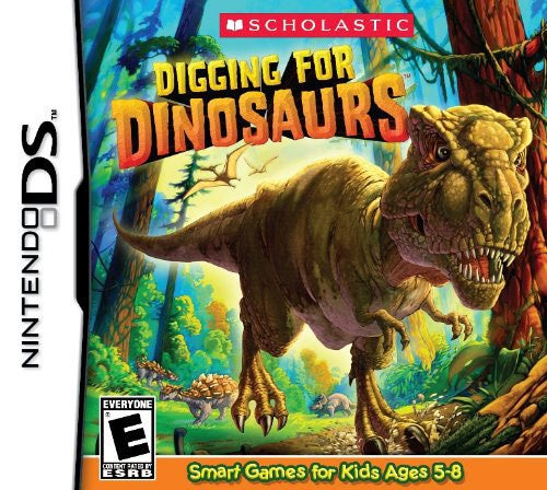 Nintendo DS - Digging for Dinosaurs - By Scholastic Games