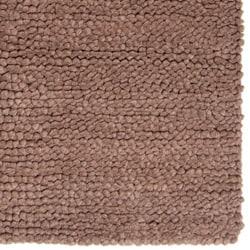 Hand-woven Nimbus Natural Wool Rug (5'x8')