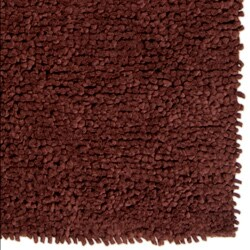 Hand-woven Nimbus Chocolate Wool Rug (8'x10') - Thumbnail 2