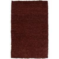 Hand-woven Nimbus Chocolate Wool Area Rug (8' x 10')