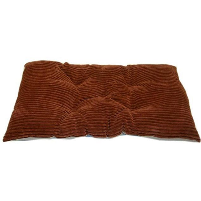 Tufted Sunset Chenille Corduroy Crate Machine-washable Pet Pad
