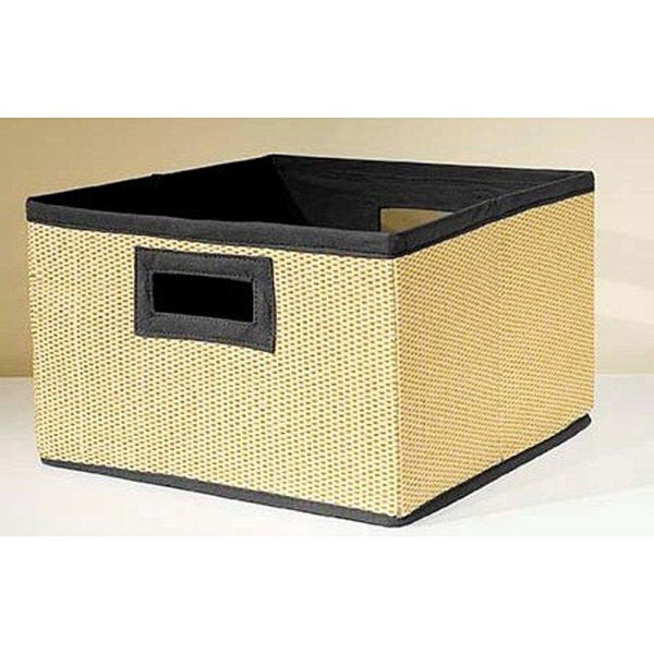 VP Home Links Black Storage Baskets (Pack of 3)