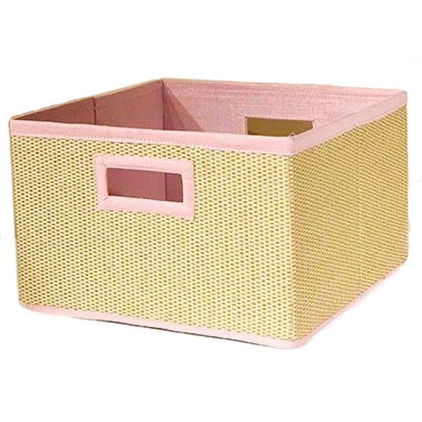 VP Home Links Pink Storage Baskets (Pack of 3)