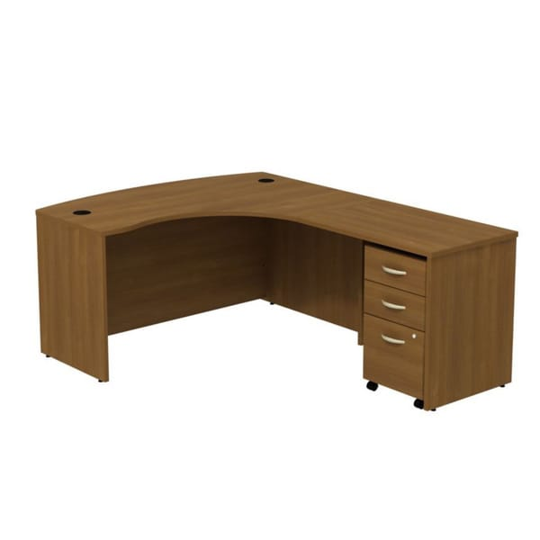 Series C Right L-Bow Workstation Desk