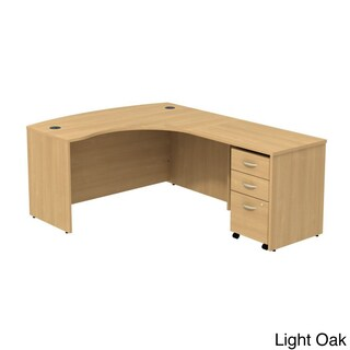 Series C Right L-Bow Workstation Desk (2 options available)