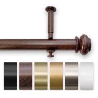 Adjustable 12 to 20-foot Patio Door Curtain Rod - 240