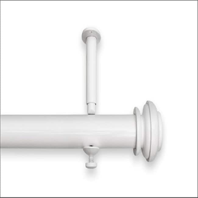 Bold Pole 28  To 48 Inch Adjustable Curtain Rod Set   48 (Option