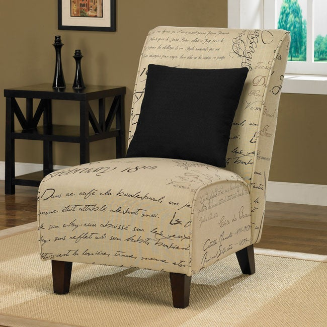 Tapered Signature Chair with Pillow - Thumbnail 0