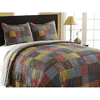 Gracewood Hollow Abella 3-piece King-size Reversible Quilt Set