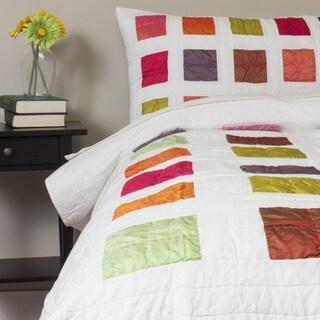 Arabesque Reversible Quilt 3-piece Set