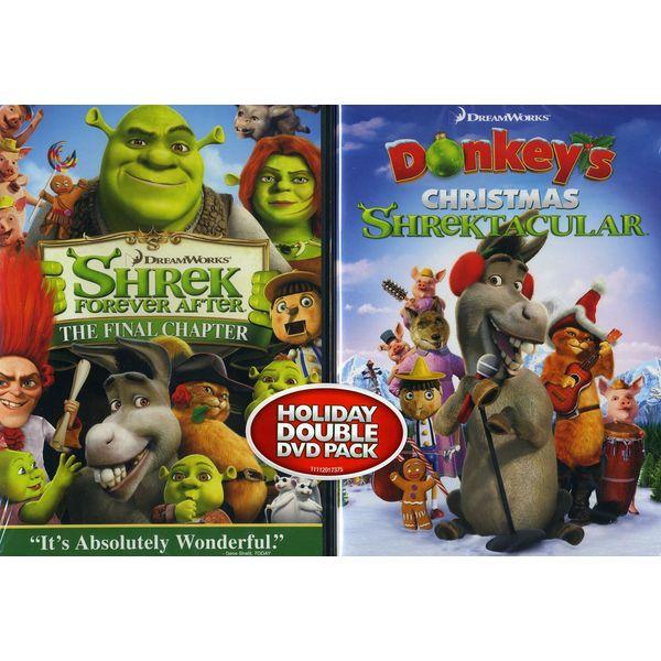Shrek Forever After/Donkey's Christmas Shrektacular (DVD)