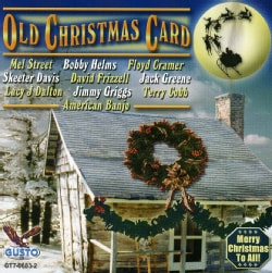 OLD CHRISTMAS CARD - OLD CHRISTMAS CARD