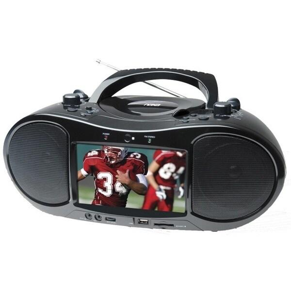 Naxa 7-inch Portable Digital TV/ DVD Player