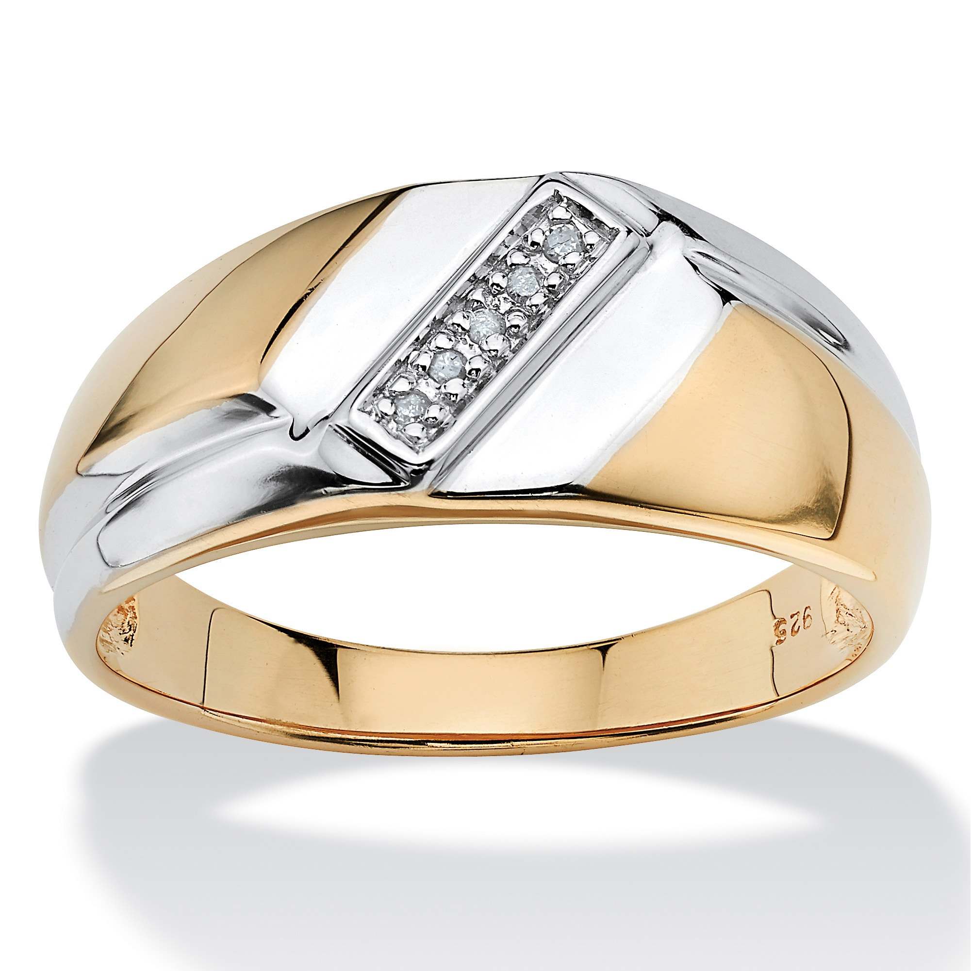 or women sue ring band men two palladium rings gold and wedding by contemporary shop for lane