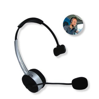 Top Product Reviews For Delton Over The Head Noise Cancellation Bluetooth Headset 5327806 Overstock