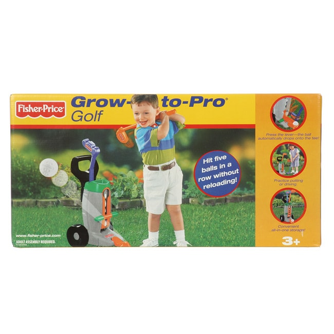 Fisher Price Grow-to-Pro Golf Training Set