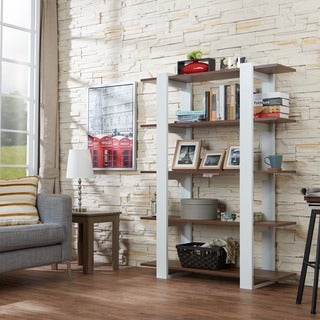 Furniture of America Haven 5-tier Display Bookshelf