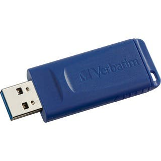 Verbatim 32GB USB Flash Drive - Blue|https://ak1.ostkcdn.com/images/products/5328168/P13133431.jpg?impolicy=medium