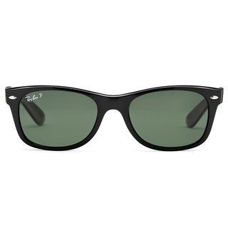 Ray-Ban New Wayfarer RB2132 Polarized Sunglasses - Black