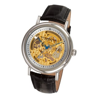 Stuhrling Original Men's Macduff Skeleton Mechanical Watch