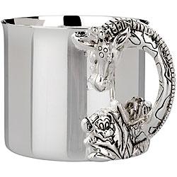 Reed & Barton Silverplated Safari Giraffe Cup