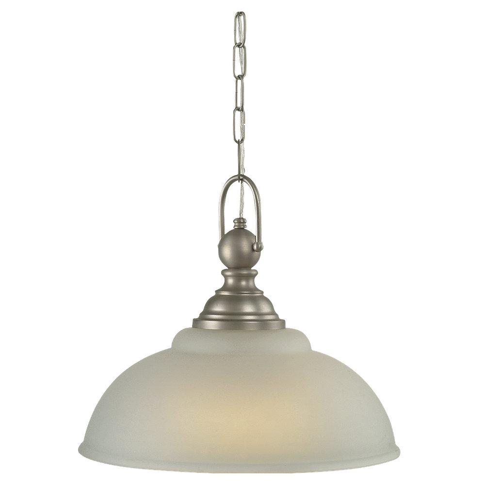 Morrpark Energy Star Antique Nickel 1-light Pendant