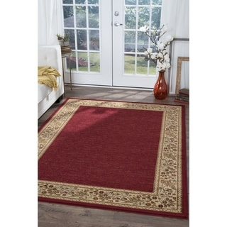 Alise Soho Red Oriental Area Rug (5'3 x 7'3) - 5'3 x 7'3