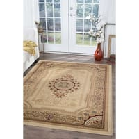 Alise Rugs Soho Traditional Oriental Area Rug - 7'10 x 10'3