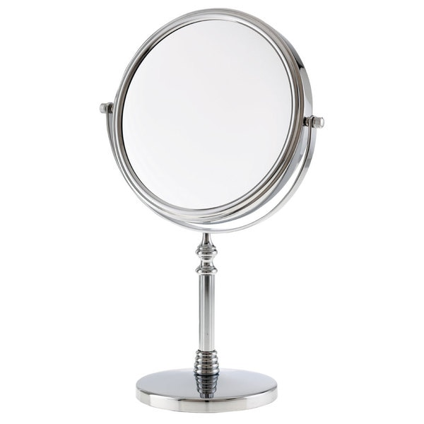 Shop Danielle 1x 10x Chrome Sculpted Stem Vanity Mirror