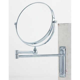 Danielle 1x-10x Adjustable Round Wall Mount Mirror