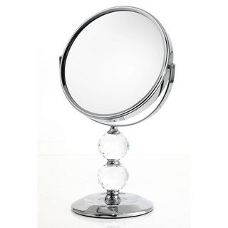 Danielle 1x-10x Double Crystal Ball Vanity Mirror