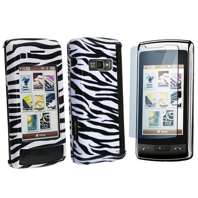 INSTEN Snap-on Phone Case Cover/ Screen Protector for LG enV Touch VX11000