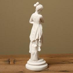 White Bonded Marble 'The Dancer' Statue - Thumbnail 1