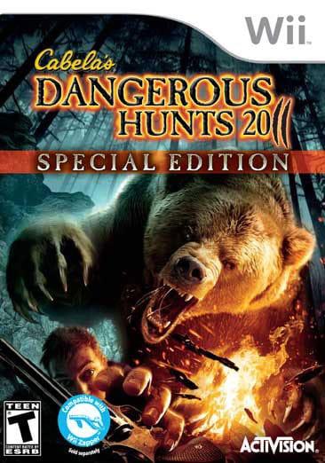 Wii - Cabela's Dangerous Hunts 2011 Special Edition