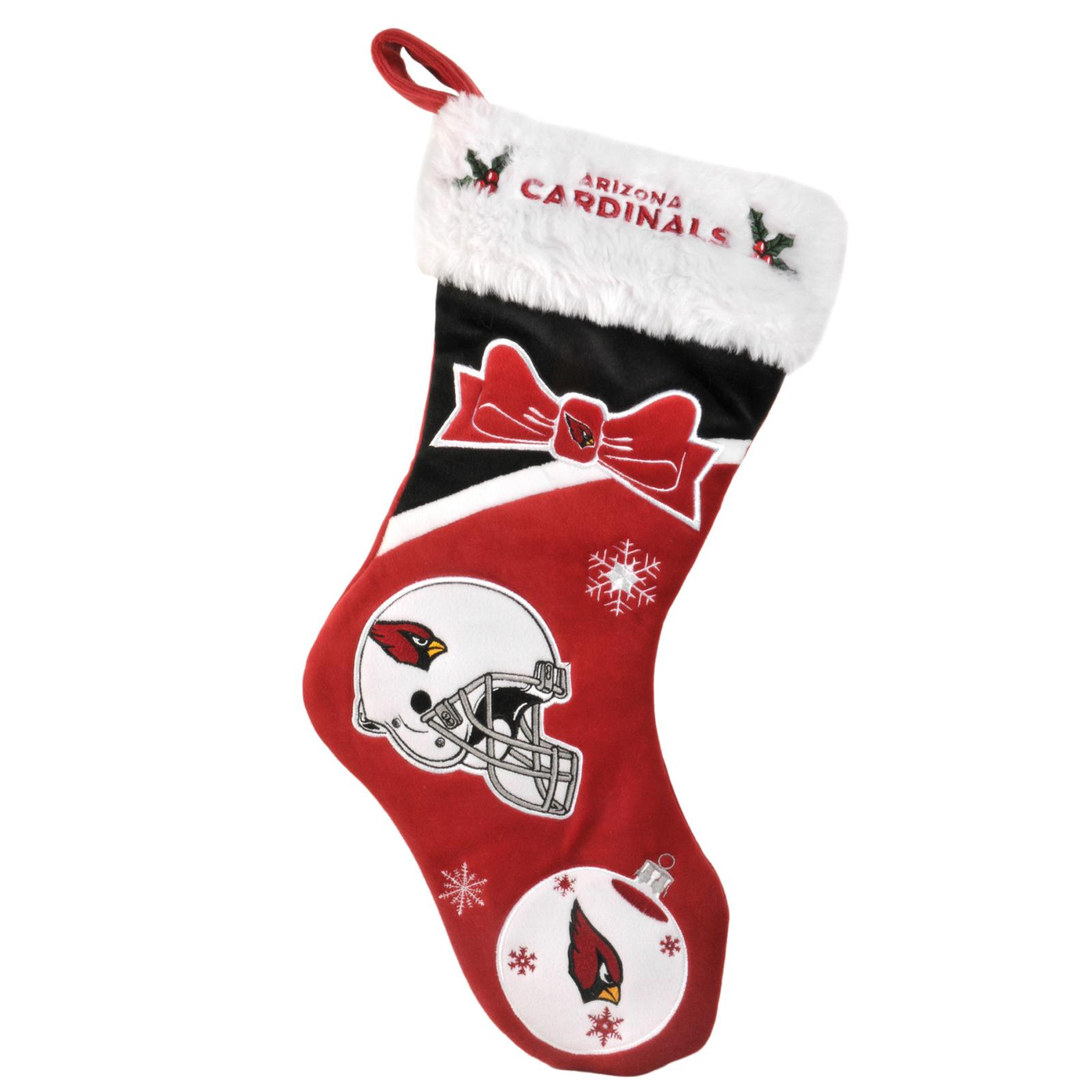 Arizona Cardinals Polyester Christmas Stocking