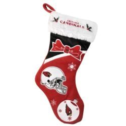 Arizona Cardinals Polyester Christmas Stocking - Thumbnail 1